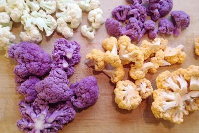 Organic Colored Cauliflower