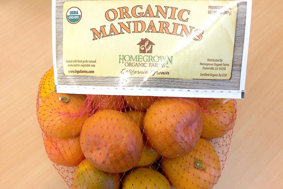 Organic Satsuma Mandarins