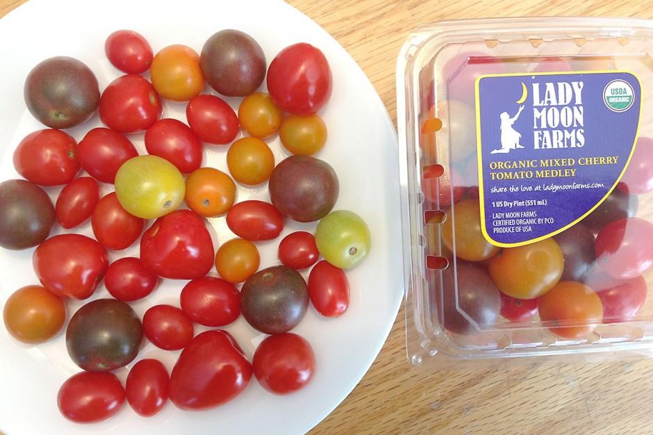 Organic Rainbow Cherry Tomatoes