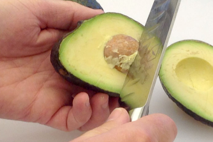 Cutting an Avocado 3