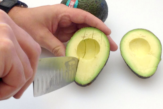 Cutting an Avocado 5