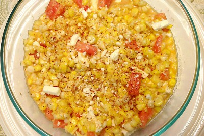 Mexican-style Street Corn Salad