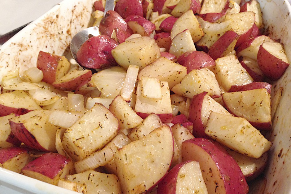 Cozy Roasted Red Potatoes