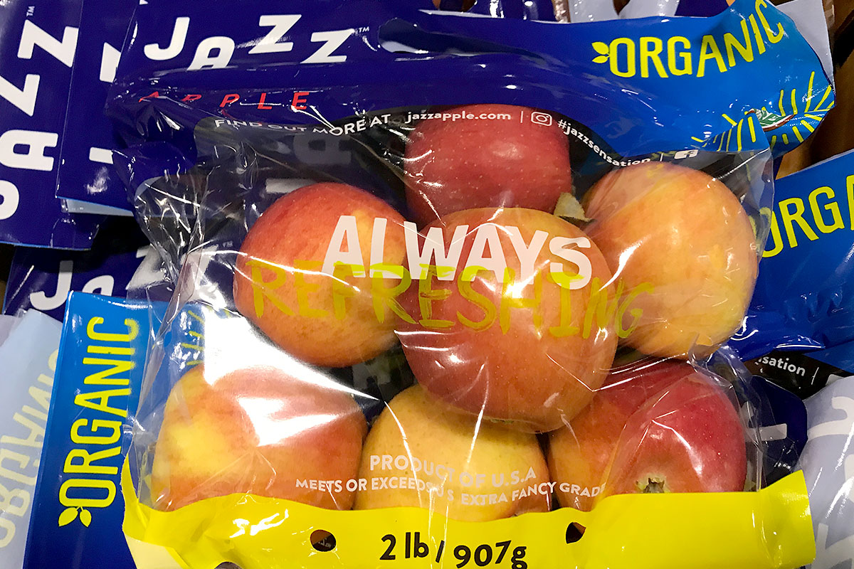 Organic Jazz Apples