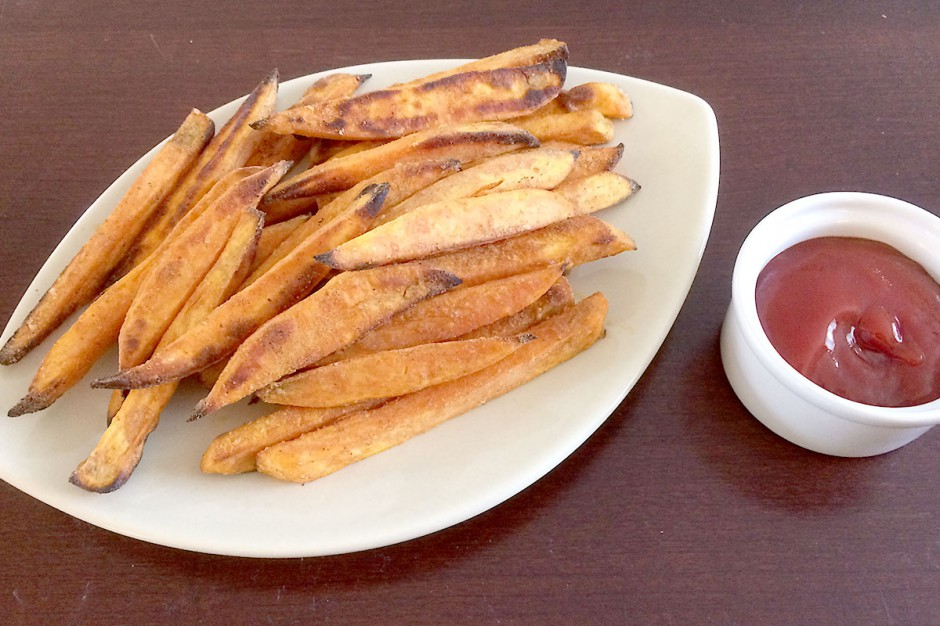 Sweet Potato Taco Fries