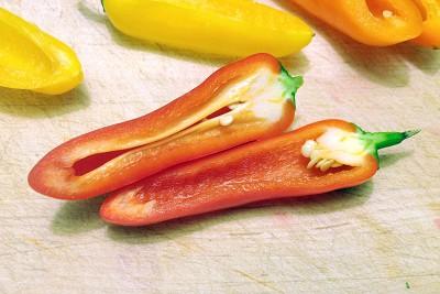 Organic Sweet Mini Peppers