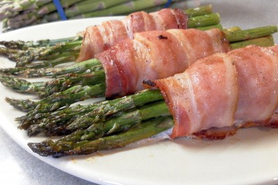 Bacon Wrapped Asparagus Bunches