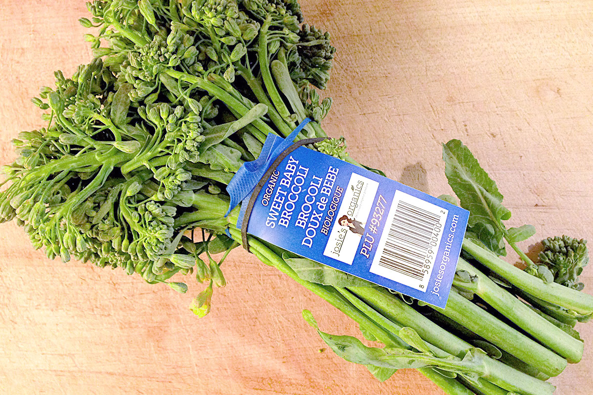 how to cook sweet baby broccoli