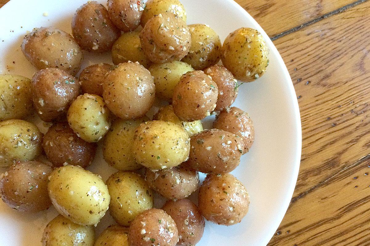 Baby Potatoes Produce Geek