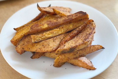 Roasted Chipotle Sweet Potato Fries