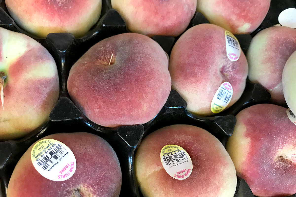 Organic Donut Peaches