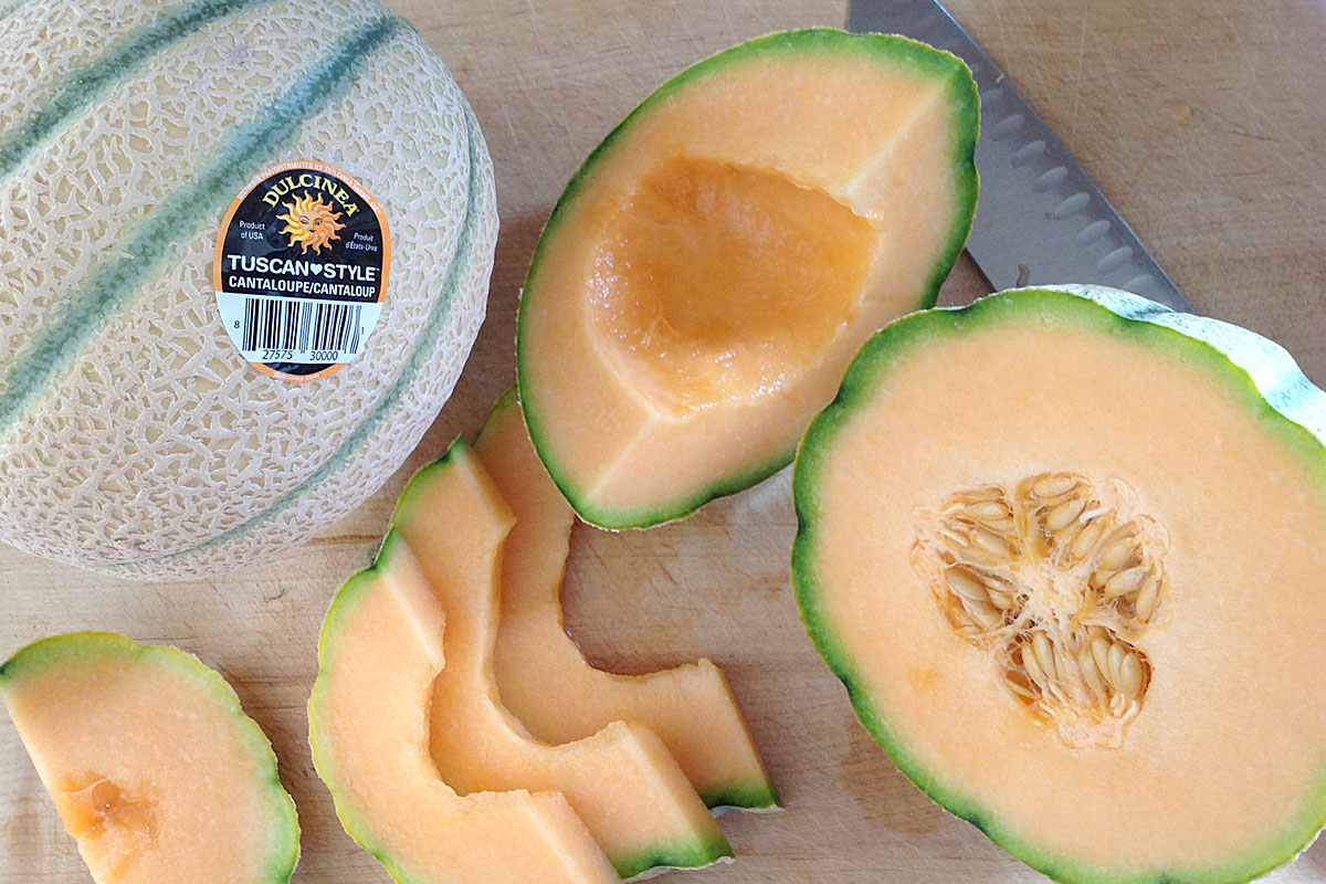 Tuscan Cantaloupes Produce Geek The cantaloupe, rockmelon (australia and new zealand), sweet melon, or spanspek (south africa) is a melon that is a variety of the muskmelon species (cucumis melo) from the family cucurbitaceae. tuscan cantaloupes produce geek